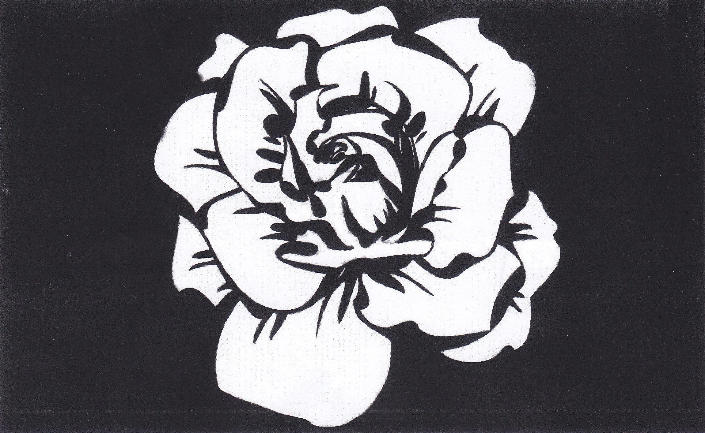 Logo - Weiße Rose